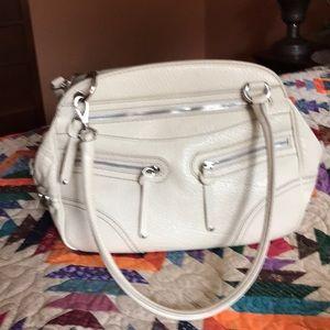 Hogan pebble leather satchel